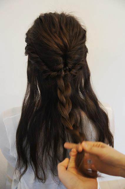 佐野祥子,自然派美容室つむぎ,南船場 美容室,子供 髪型,簡単可愛い髪型,女の子 髪型,キッズヘアスタイル,