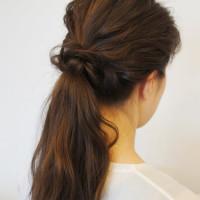「自然派美容室つむぎ」佐野 祥子さんから「簡単可愛い髪型・ヘアーアレンジ」を学ぶ。