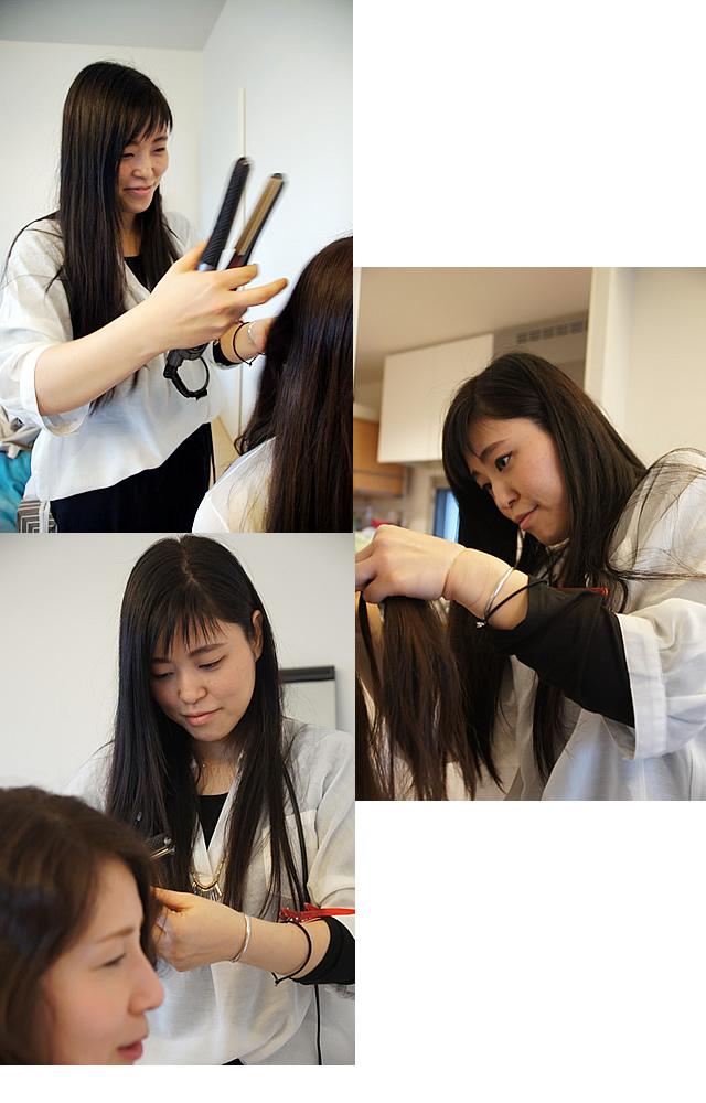 佐野 祥子,自然派美容室つむぎ,南船場 美容室,子供 髪型,簡単可愛い髪型,女の子 髪型,キッズヘアスタイル,