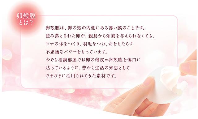 ベビー コラーゲン,卵殻膜,女子力アップ!,跡見順子,卵 殻,卵美容,半 透 膜,卵 膜,卵 膜,III型,ビューティードリンク,
