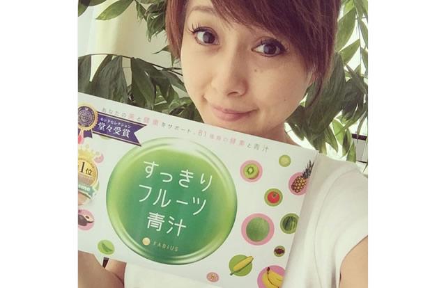 すっきりフルーツ青汁の愛用芸能人の渡辺美奈代さん