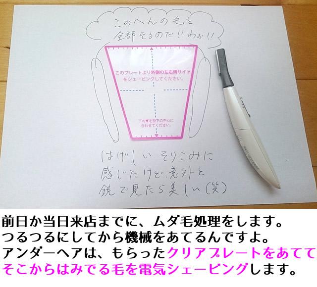 ミュゼ vライン やり方,ミュゼ vライン 効果,ミュゼ vライン 自己処理の仕方