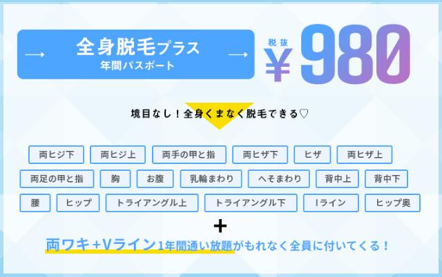 ミュゼ 980円 口コミ,ミュゼ 980円 仕組み