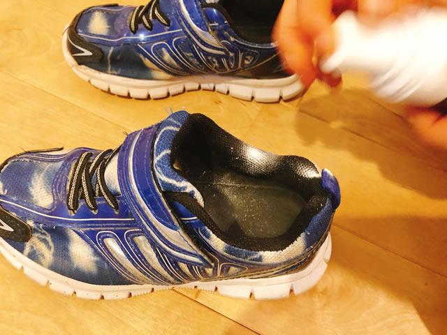 靴の臭い 粉